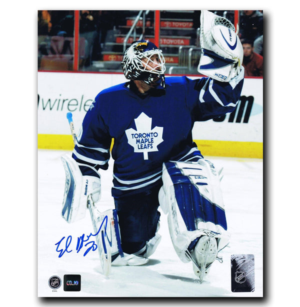 Ed Belfour Toronto Maple Leafs Autographed 8x10 Photo Autographed Hockey 8x10 Photos CoJo Sport Collectables