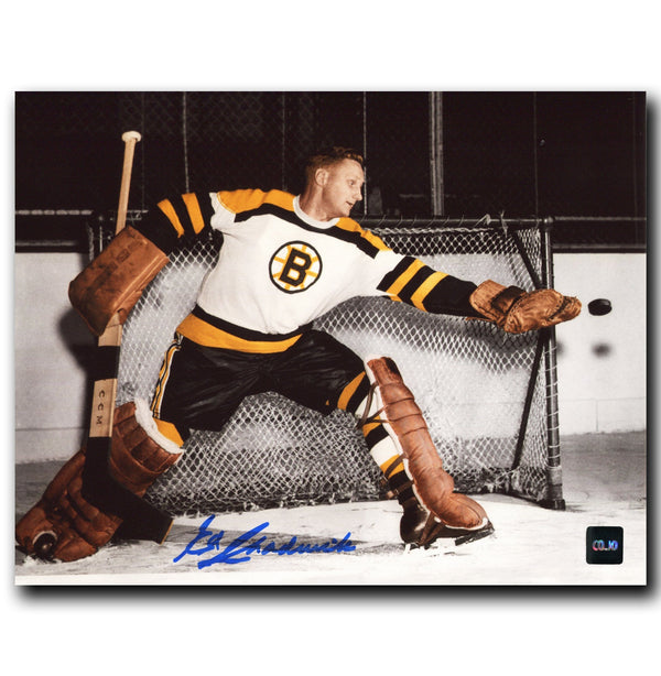 Ed Chadwick Boston Bruins Autographed 8x10 Photo - CoJo Sport Collectables Inc.