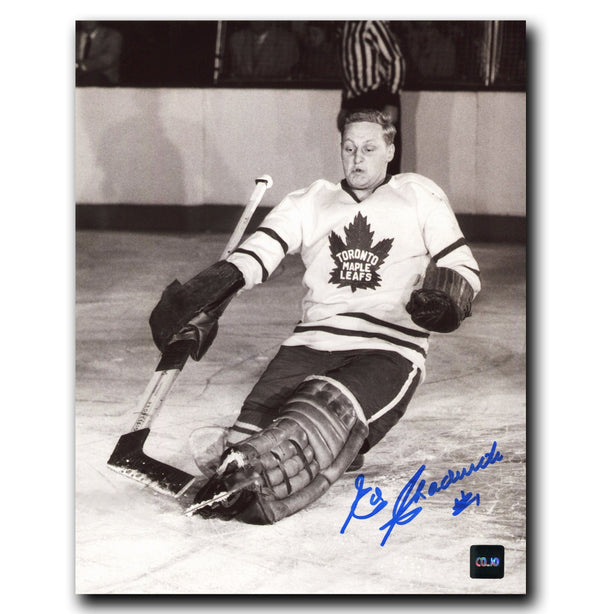 Ed Chadwick Toronto Maple Leafs Autographed 8x10 Photo - CoJo Sport Collectables Inc.