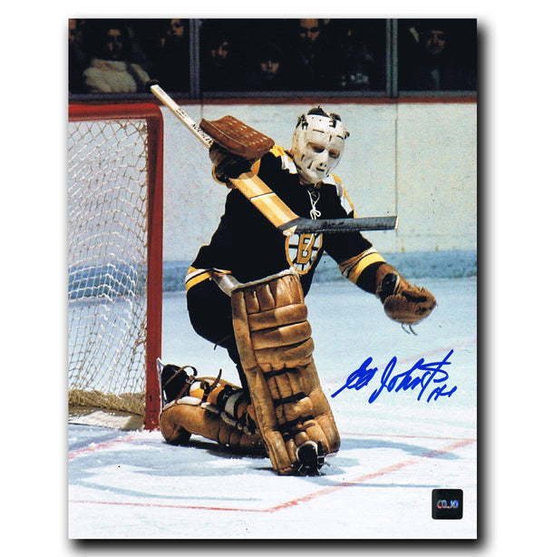 Ed Johnston Boston Bruins Autographed 8x10 Photo - CoJo Sport Collectables Inc.
