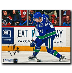 Elias Pettersson Vancouver Canucks Autographed Action 8x10 Photo