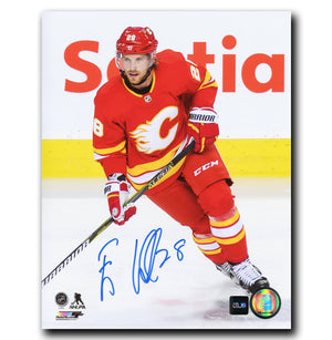 Elias Lindholm Calgary Flames Autographed 8x10 Photo - CoJo Sport Collectables Inc.