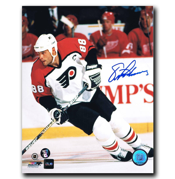Eric Lindros Philadelphia Flyers Autographed 8x10 Photo Autographed Hockey 8x10 Photos CoJo Sport Collectables
