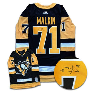 Evgeni Malkin Pittsburgh Penguins Autographed Adidas Jersey - CoJo Sport Collectables Inc.