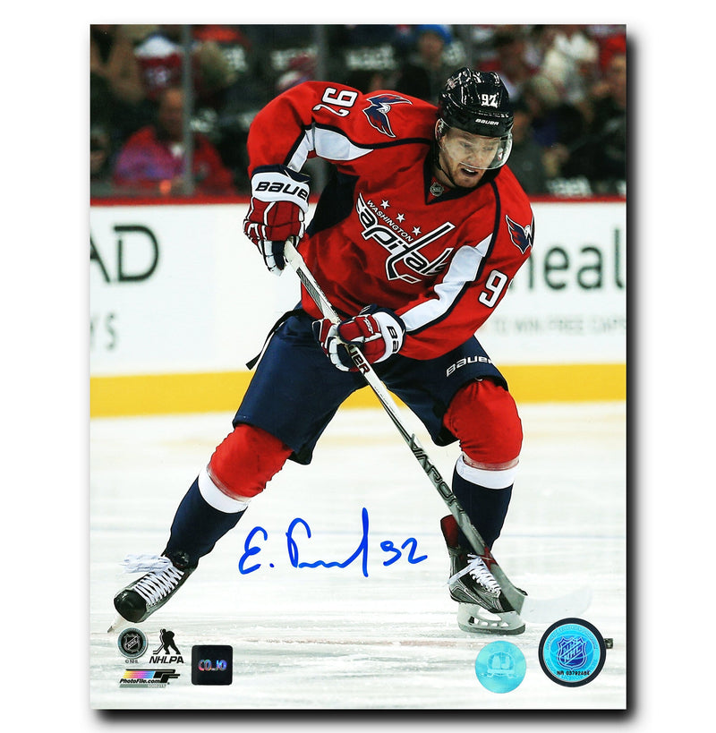 Evgeny Kuznetsov Washington Capitals Autographed Action 8x10 Photo CoJo Sport Collectables Inc.