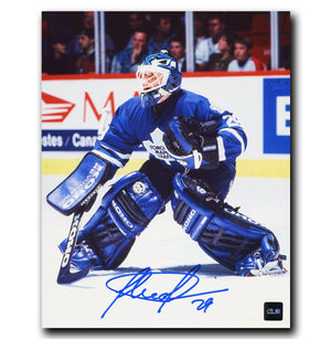 Felix Potvin Toronto Maple Leafs Autographed Pose 8x10 Photo