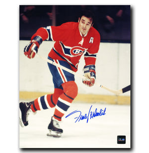 Frank Mahovlich Montreal Canadiens Autographed 8x10 Photo - CoJo Sport Collectables Inc.