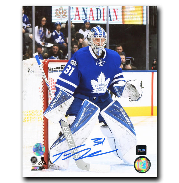 Frederik Andersen Toronto Maple Leafs Autographed 8x10 Photo Autographed Hockey 8x10 Photos CoJo Sport Collectables