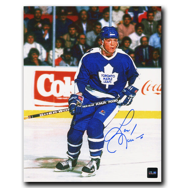 Gary Leeman Toronto Maple Leafs Autographed 8x10 Photo - CoJo Sport Collectables Inc.