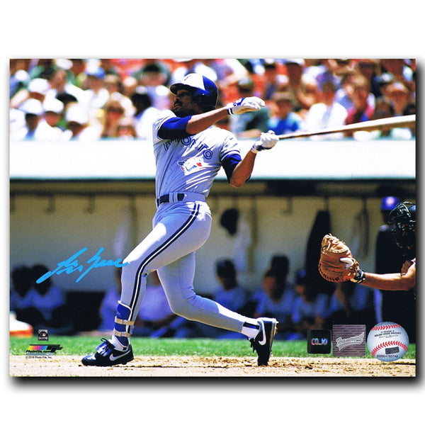 George Bell Toronto Blue Jays Autographed 8x10 Photo - CoJo Sport Collectables Inc.