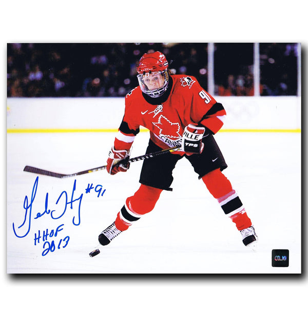 Geraldine Heaney Team Canada Autographed 8x10 Photo - CoJo Sport Collectables Inc.