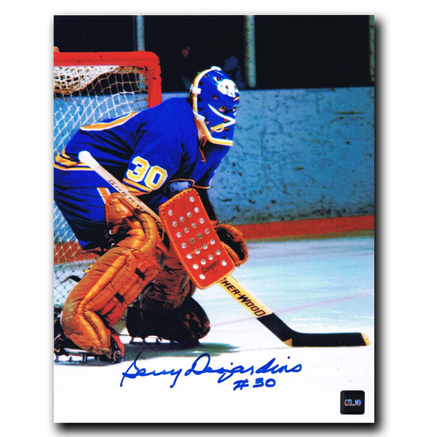 Gerry Desjardins Buffalo Sabres Autographed 8x10 Photo Autographed Hockey 8x10 Photos CoJo Sport Collectables