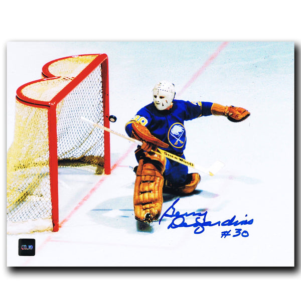 Gerry Desjardins Buffalo Sabres Autographed 8x10 Photo - CoJo Sport Collectables Inc.