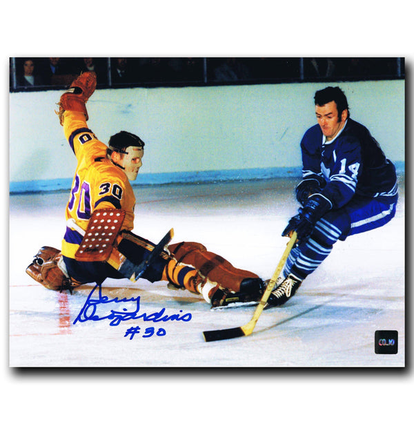 Gerry Desjardins Los Angeles Kings Autographed 8x10 Photo Autographed Hockey 8x10 Photos CoJo Sport Collectables