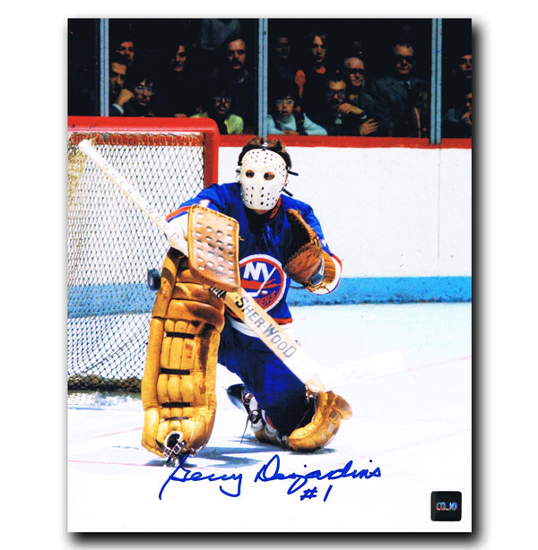 Gerry Desjardins New York Islanders Autographed 8x10 Photo Autographed Hockey 8x10 Photos CoJo Sport Collectables