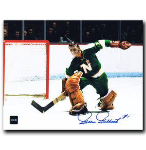Gilles Gilbert Minnesota North Stars Autographed 8x10 Photo Autographed Hockey 8x10 Photos CoJo Sport Collectables
