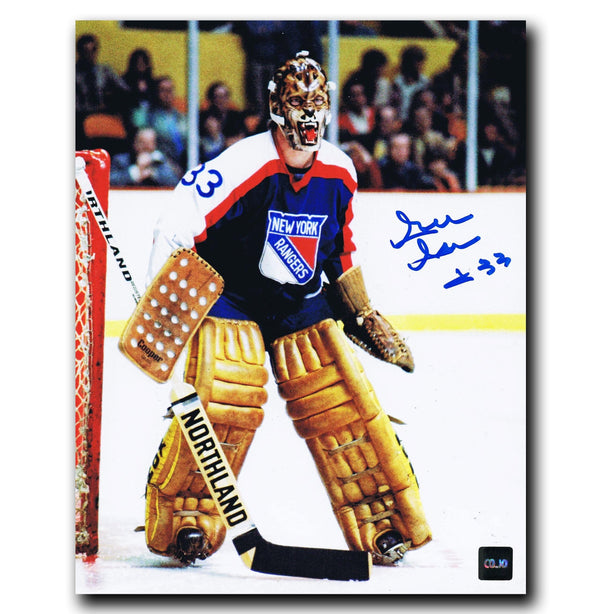 Gilles Gratton New York Rangers Autographed 8x10 Photo Autographed Hockey 8x10 Photos CoJo Sport Collectables