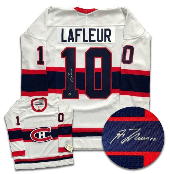 Guy Lafleur Montreal Canadiens Autographed CCM Jersey CoJo Sport Collectables Inc.
