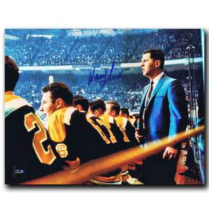 Harry Sinden Boston Bruins Autographed 8x10 Photo - CoJo Sport Collectables Inc.