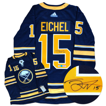 Jack Eichel Buffalo Sabres Autographed Adidas Pro Jersey