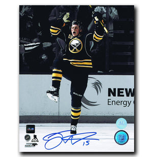 Jack Eichel Buffalo Sabres Autographed First NHL Goal 8x10 Photo - CoJo Sport Collectables Inc.
