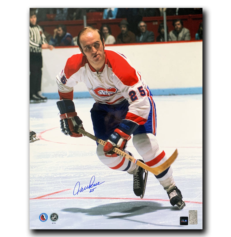 Jacques Lemaire Montreal Canadiens Autographed 16x20 Photo - CoJo Sport Collectables Inc.
