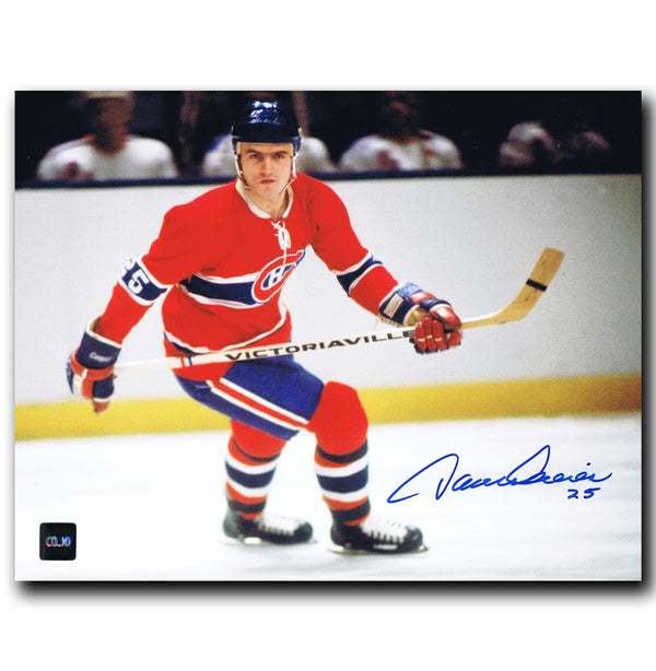 Jacques Lemaire Montreal Canadiens Autographed 8x10 Photo - CoJo Sport Collectables Inc.