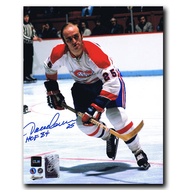 Jacques Lemaire Montreal Canadiens Autographed 8x10 Photo Autographed Hockey 8x10 Photos CoJo Sport Collectables