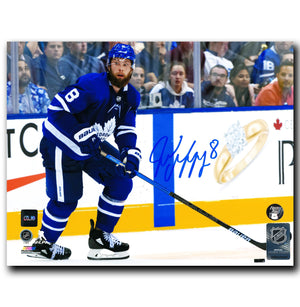 Jake Muzzin Toronto Maple Leafs Autographed Action 8x10 Photo - CoJo Sport Collectables Inc.