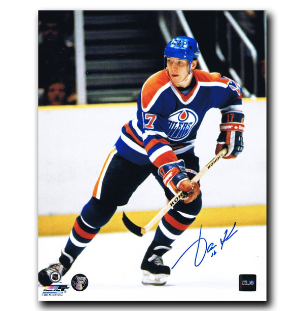 Jari Kurri Edmonton Oilers Autographed 8x10 Photo Autographed Hockey 8x10 Photos CoJo Sport Collectables