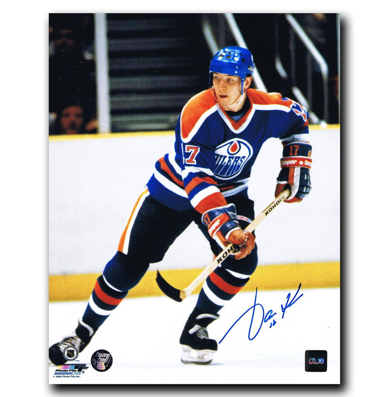 Jari Kurri Edmonton Oilers Autographed 8x10 Photo CoJo Sport Collectables