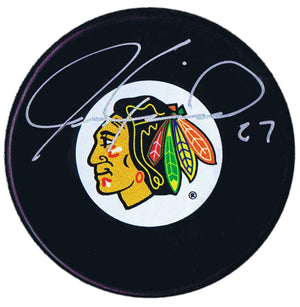 Jeremy Roenick Autographed Chicago Blackhawks Puck - CoJo Sport Collectables Inc.