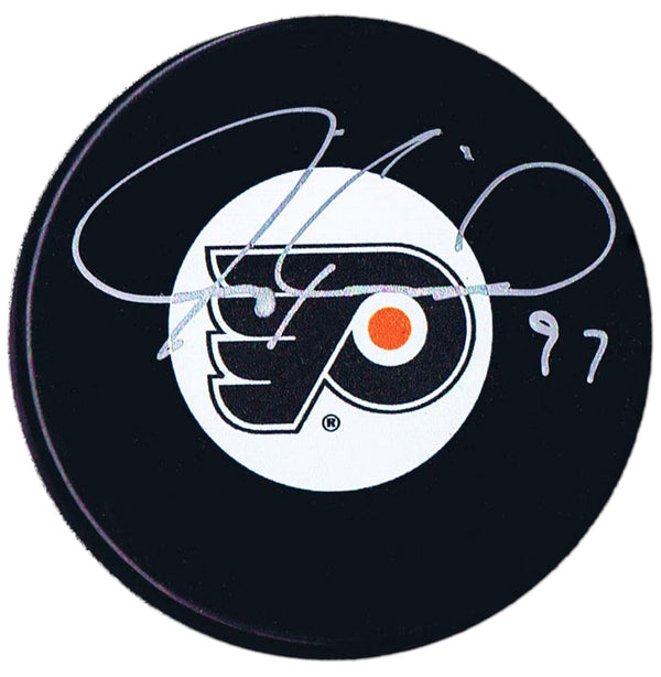 Jeremy Roenick Autographed Philadelphia Flyers Puck - CoJo Sport Collectables Inc.