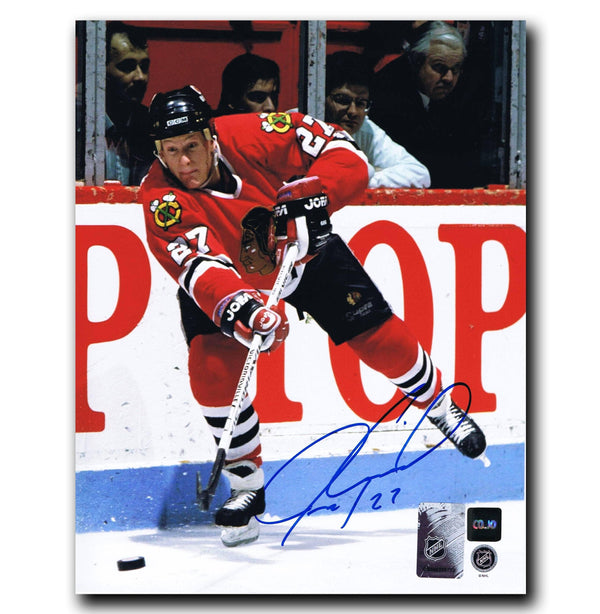 Jeremy Roenick Chicago Blackhawks Autographed 8x10 Photo Autographed Hockey 8x10 Photos CoJo Sport Collectables