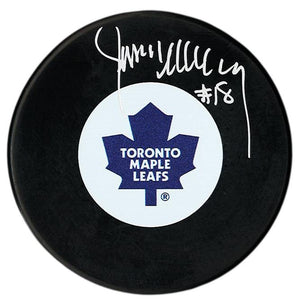 Jim McKenny Autographed Toronto Maple Leafs Puck - CoJo Sport Collectables Inc.