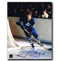 Jim Dorey Toronto Maple Leafs Autographed 8x10 Photo