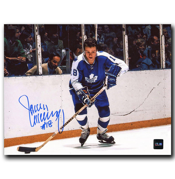 Jim McKenny Toronto Maple Leafs Autographed 8x10 Photo - CoJo Sport Collectables Inc.