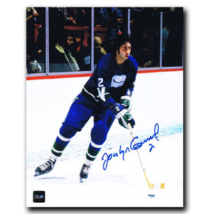 Jocelyn Guevremont Vancouver Canucks Autographed 8x10 Photo - CoJo Sport Collectables Inc.