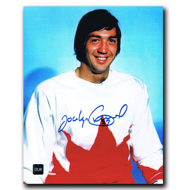Jocelyn Guevremont Vancouver Canucks Autographed Team Canada 8x10 Photo - CoJo Sport Collectables Inc.