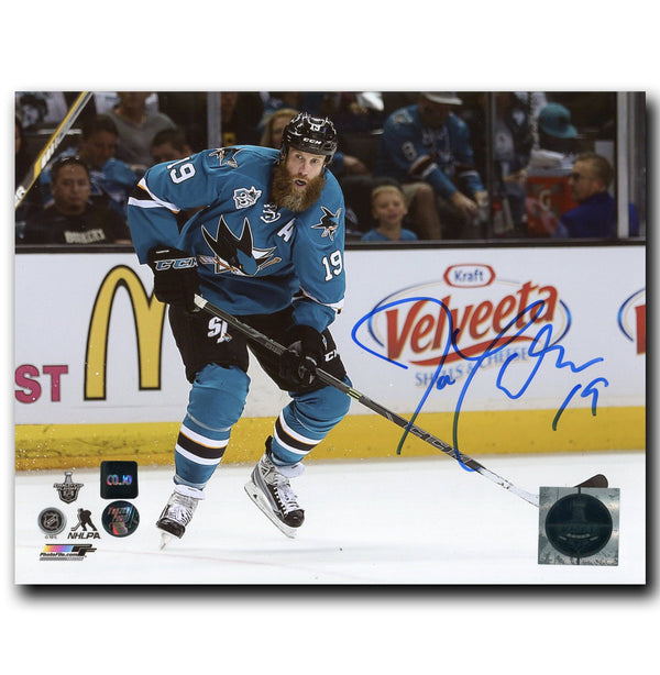 Joe Thornton San Jose Sharks Autographed 8x10 Photo - CoJo Sport Collectables Inc.