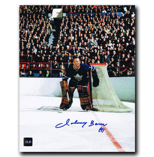Johnny Bower Toronto Maple Leafs Autographed 8x10 Photo Autographed Hockey 8x10 Photos CoJo Sport Collectables