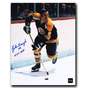 Johnny Bucyk Boston Bruins Autographed 8x10 Photo - CoJo Sport Collectables Inc.