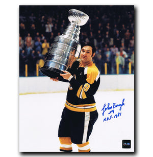 Johnny Bucyk Boston Bruins Stanley Cup Autographed 8x10 Photo - CoJo Sport Collectables Inc.