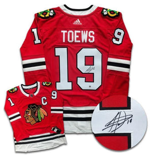 Jonathan Toews Chicago Blackhawks Autographed Adidas Jersey - CoJo Sport Collectables Inc.