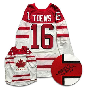 Jonathan Toews Team Canada Autographed Nike Jersey - CoJo Sport Collectables Inc.