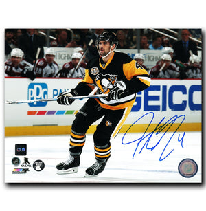 Justin Schultz Pittsburgh Penguins Autographed 8x10 Photo - CoJo Sport Collectables Inc.