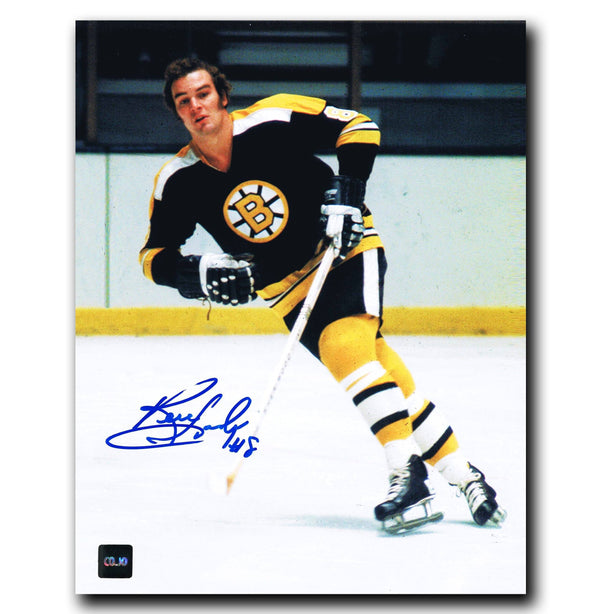 Ken Hodge Boston Bruins Autographed 8x10 Photo - CoJo Sport Collectables Inc.