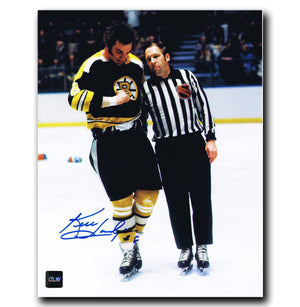 Ken Hodge Boston Bruins Autographed Fight 8x10 Photo - CoJo Sport Collectables Inc.