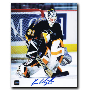 Ken Wregget Pittsburgh Penguins Autographed 8x10 Photo - CoJo Sport Collectables Inc.