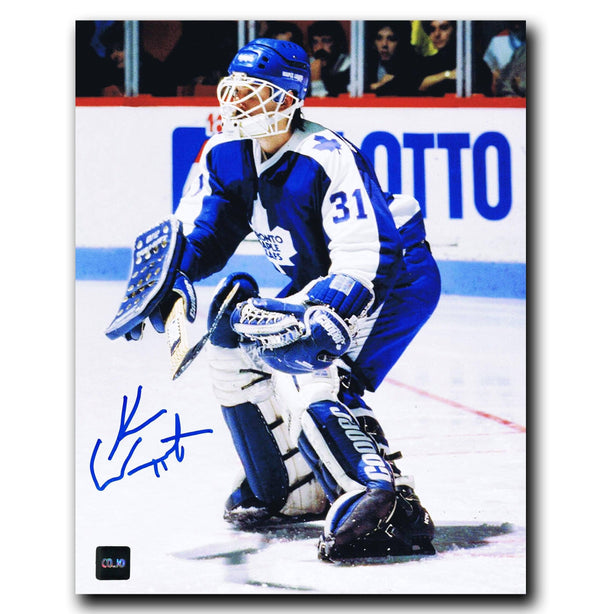 Ken Wregget Toronto Maple Leafs Autographed 8x10 Photo - CoJo Sport Collectables Inc.